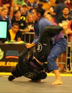 Alex Smyth at a Jiu Jitsu contest.
